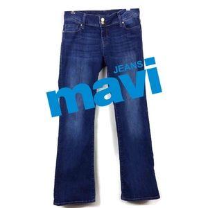 MAVI MALIN FLAP POCKET BOOTCUT IN SHADED NOLITA.